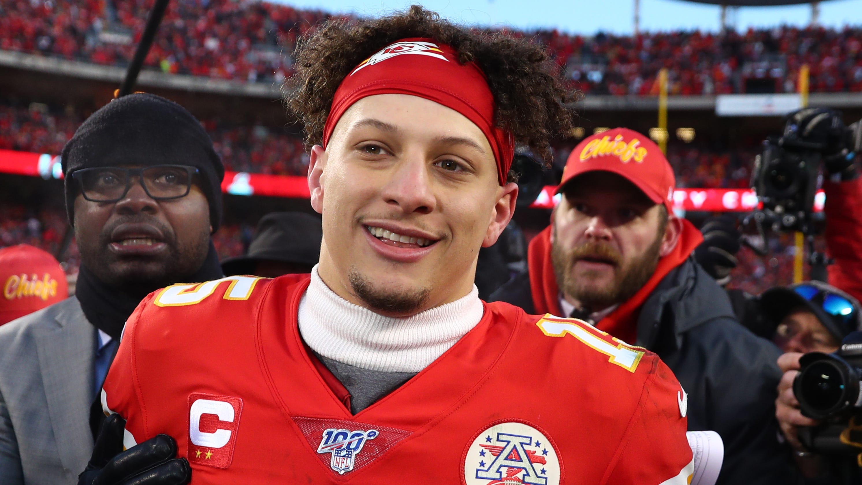 Chiefs teammates love QB Patrick Mahomes as 'one of the guys' ... even if that's not really true