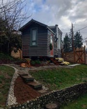 Andrew Sharman's tiny house in Bremerton.