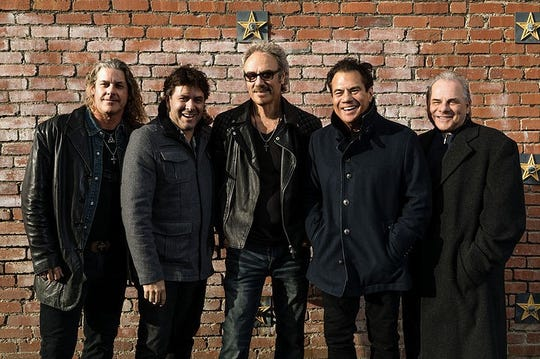 Pablo Cruise is (from left) Robbie Wyckoff, bassist Larry Antonino and founding members David Jenkins, Cory Lerios and Steve Price.