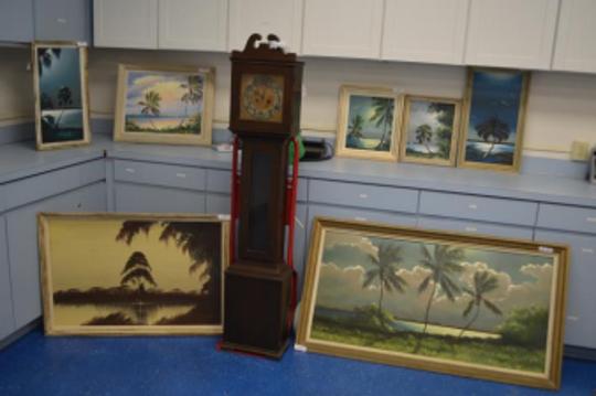 Stolen Highwaymen art recovered by Melbourne Police Department detectives.