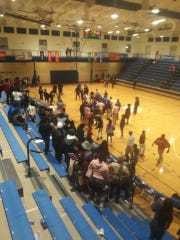 Woodward and Aiken's boys basketball game was called in the third quarter after a fight broke out on the court.