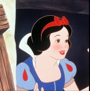 "Snow White from the Disney animated film ""Snow White and the Seven Dwarfs."""