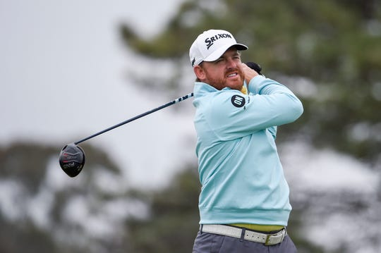 J.B. Holmes, here at the Farmers Insurance golf tournament last weekend, shot 5-under 65 on Friday at the Waste Management Phoenix Open.