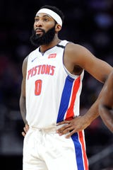 Former Piston Andre Drummond