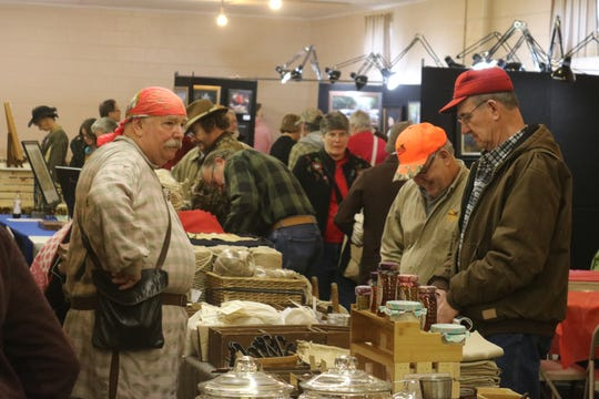On Saturday and Sunday, dozens of reenactment enthusiasts, history buffs and some of the county's finest classical artisans gathered once again at the Sandusky County Fairgrounds for the Living History Trade Fair.