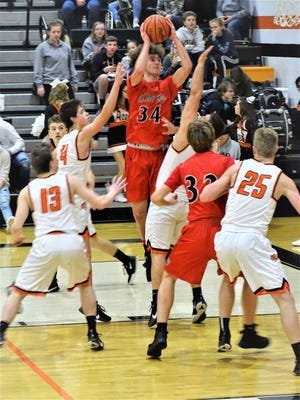 Fairfield Union senior Huston Harrah was named Mid-State League-Buckeye Division co-Player of the Year.