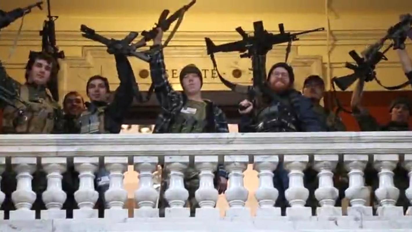 Kentucky gun rally: What Rep. Thomas Massie, David Hogg said on social