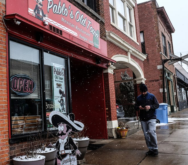 Pablo's Mexican Restaurant has been in Lansing's Old Town since 2005 and is a popular lunch and dinner spot Saturday, Feb. 1, 2020.