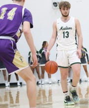 Madison's Tyler Tackett has the Rams at No. 4  in the Richland County Boys Basketball Power Poll.