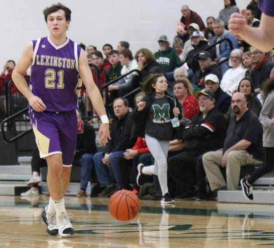 Lexington's Dylan Spears has the Minutemen at No. 5  in the Richland County Boys Basketball Power Poll.