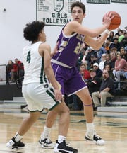Lexington's Max Waldruff scored 18 of his team's 38 points in a win over Madison on Friday night.
