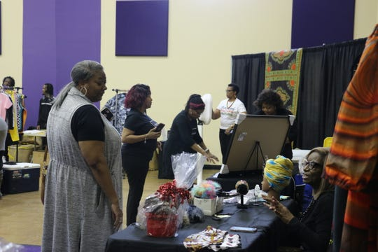 Dozens filtered into the St. James Missionary Baptist Church off 28th Avenue for the third Nashville Black Market event on Feb. 1, 2020.