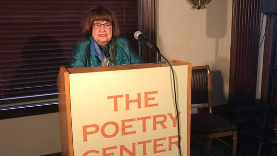 Maria Mazziotti Gillan, founder and executive director of the Poetry Center at Passaic County Community College, marked the center's 40th anniversary in Paterson on Feb. 1, 2020.