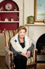 Mary Higgins Clark - the Queen of Suspense novels, in her Saddle River home on Thursday, Mar. 24, 2017.