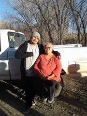 Steven Begay poses for a photo with his grandmother Lena Johnson-Yazzie. Steven's death is the focus of an episode of The Murder Tapes TV series, set to air on Feb. 5, on the Investigation Discovery channel.