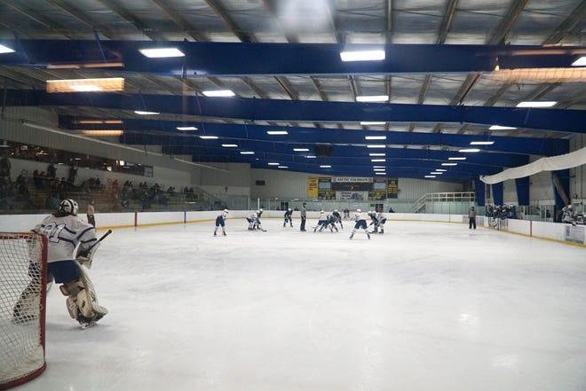 Salem and Livonia Stevenson High hockey teams go up against each other on Jan. 31 at Chelsea's Arctic Coliseum.