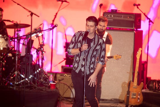 Austin Burke performed before Bentley at The Birds Nest on Friday, Jan. 31, 2020 in Scottsdale.