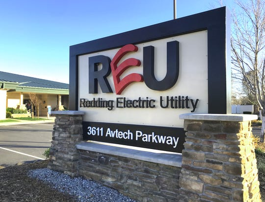 The Redding Electric Utility office is off Airport Road in east Redding.