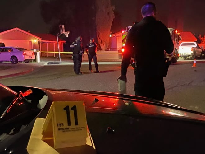 A man was shot around 8 p.m. Friday night in the 1700 block of Harold Court.
