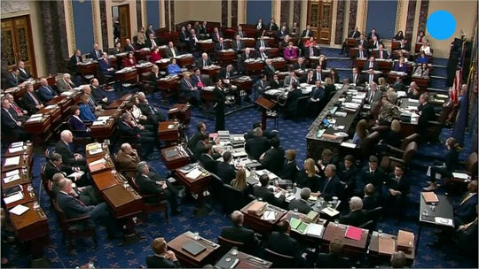 The Senate negotiates how to end President Trump's impeachment trial.