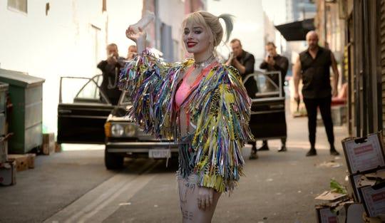 "All of Gotham's mercenaries target Harley Quinn (Margot Robbie) at one point in ""Birds of Prey."""