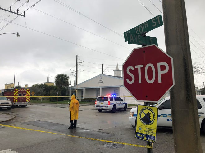 Two people were killed in a shooting outside Victory City Church in Riviera Beach, Fla. following a funeral Saturday afternoon.