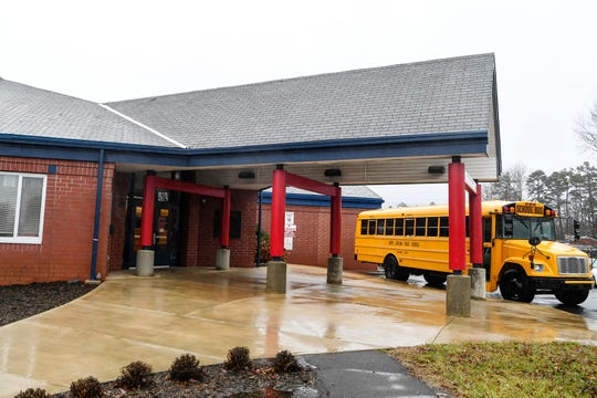Johnston Elementary in West Asheville January 24, 2020.