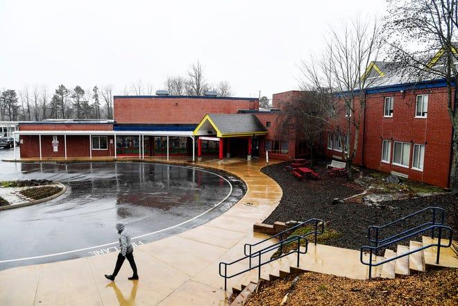 Johnston Elementary in West Asheville January 24, 2020.