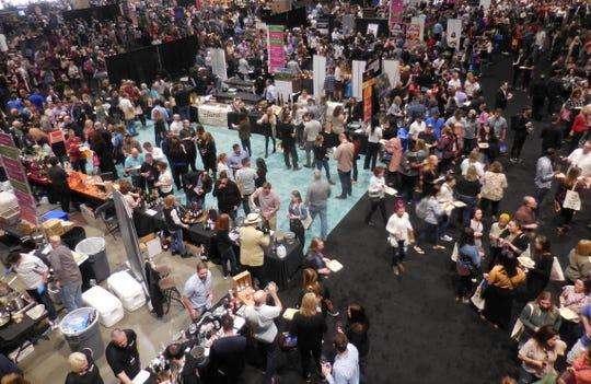 CenturyLink Field's convention center is host to Taste Washington's annual March gathering.