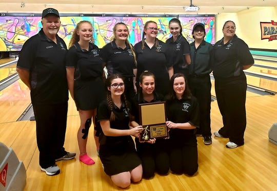 Klahowya's bowling team won the 2A/1A championship at Saturday's West Central District tournament at Paradise Lanes in Tacoma.