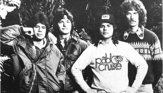 Pablo Cruise — from left, Cory Lerios, the late Bud Cockrell, Steve Price and David Jenkins — in their heydays.