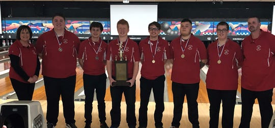 Bucyrus boys claimed the county bowling tournament trophy edging out Galion.