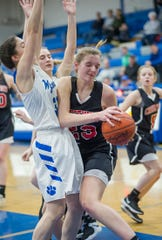 Crestview's Kenedi Goon scored 12 points and grabbed 20 rebounds in a win over Wynford.