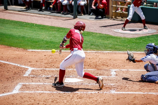 In 2019, Morgan hit .377 with a .423 on base percentage.