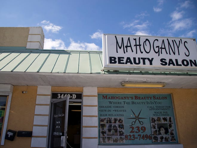 Fort Myers Police responded to a call at Mahogany's Beauty Salon, 3440 Fowler St., about 11:30 a.m. Saturday about multiple shots fired. Police said aman apparently shot his wife atthe salon and exchanged fire with police before being shot himself.They did not identify the couple. Friends working at the salon Sunday identified Mahogany Mouzion as the victim and her husband, Ronnel as the shooter.