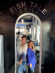 Kerry Krieg and Amy Keen operate the restaurant portion of the family business, Fish Tale Grill in Cape Coral.