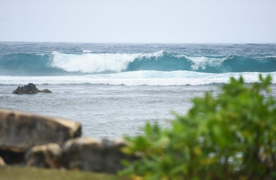 The National Weather Service issued a high-surf advisory for the Marianas that will last untilabout Monday night