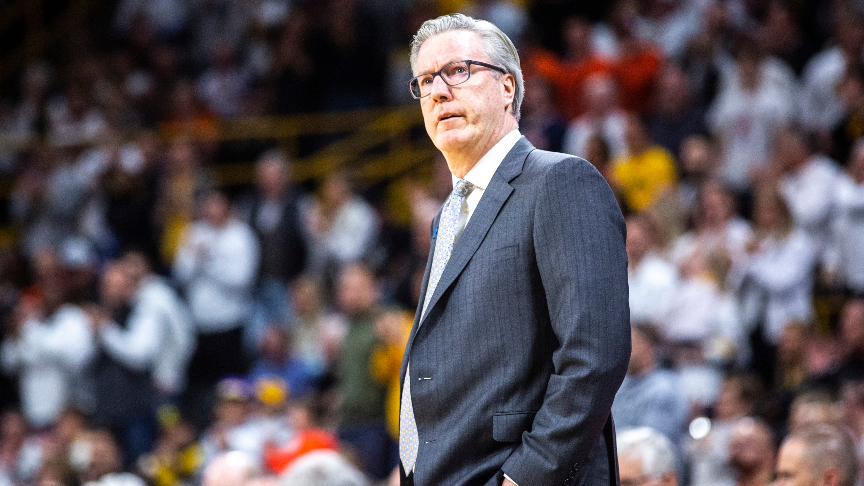 How Fran McCaffery has taken a depleted Hawkeye team to unexpected heights