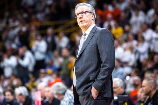 Fran McCaffery lost three starters from last year's Iowa basketball team, and then another from this year's. Still, he has No. 17 Iowa sitting at 19-9 with six wins over ranked opponents.