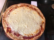 Meijer came in second in the take-and-bake pizza taste test. Tasters liked the cheesiness and the crisp crust.