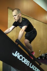 Josh Jackett prefers to train on Jacobs Ladder for competitive stair climbing competitions.