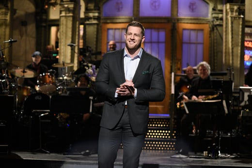 Here are our five favorite moments from J.J. Watt's appearance on 'Saturday Night Live'