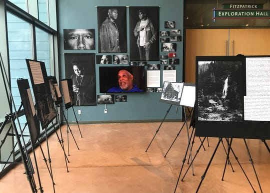 Artist and filmmaker Mark Oliver uses photos, text and maps to tell the oftentimes harrowing experiences of African-American miners who explored for gold in Shasta and Siskiyou counties during the mid-1800s for a museum exhibit at Turtle Bay Exploration Park.