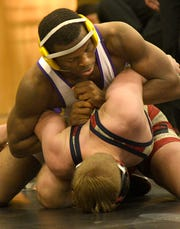 Byrd's Cameron Vaughns was named to the 2020 LHSCA All-State Wrestling team.