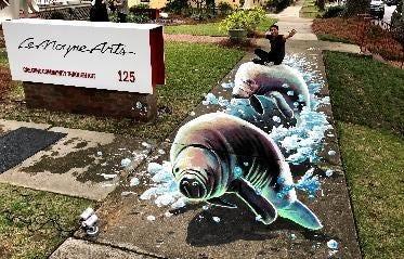 'Splashing with Manatees' By Carlos Alberto https://www.instagram.com/carlosalberto_gh/