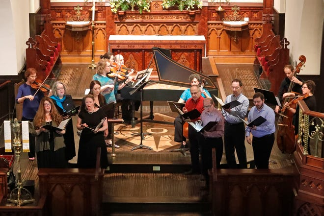Bach Parley Chamber Singers and instrumentalists.