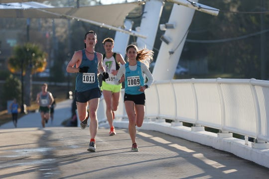 An estimated 1,120 people participated in the Tallahassee Marathon Sunday, Feb. 2, 2020.