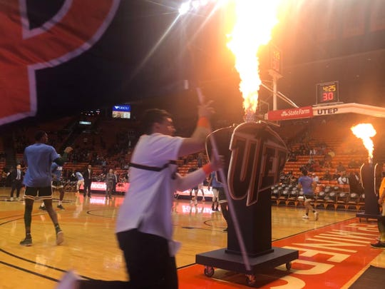 The UTEP men's basketball team played UAB Saturday's at the Don Haskins Center