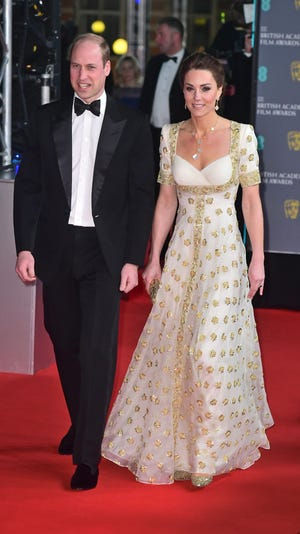 duchess kate prince william wow on the bafta awards red carpet prince william wow on the bafta awards