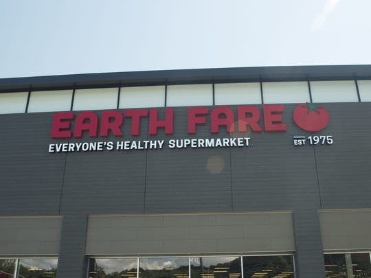 Earth Fare renovated its South Asheville store in 2015-16, including the facade. Established in Asheville in 1975, the chain announced Feb. 3, 2020 it will be closing.